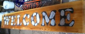 Petoskey Stone Sign