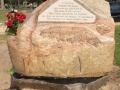 Halliday Memorial Stone 2016