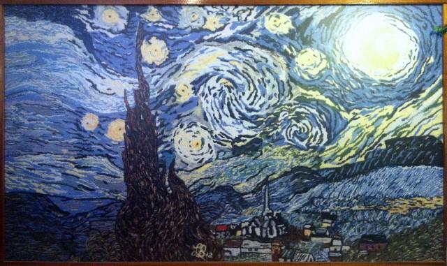 A Starry Night by Van Goh 6'x10' 2013